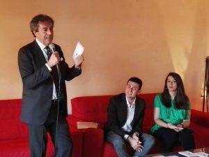 Attilio Romita, Lorenzo Cioce e Giusy Ronchi